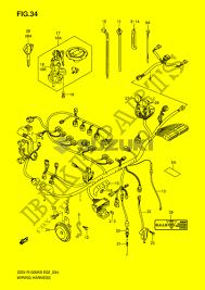 wiring harness gsx rk e k gsx rk e wiring harness gsx r1000k6 e2 k6 2006 motorcycle suzuki microfiche