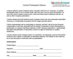 Photography Consent Form Template Zakly Info