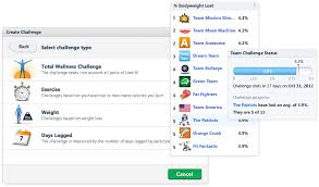 Group Fitness Challenge Tracker Lose It Challenge Yourself