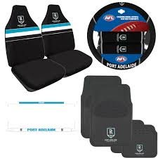 You can use car accessories to put your own personal touch on your vehicle to truly make it your own. Port Adelaide Car Accessories Value Pack Big Savings