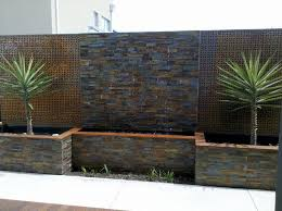 natural rusty slate stacked stone nstack98