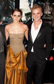 Has emma watson talked about having feelings for tom felton before? Entertainment Tom Felton Says Emma Watson Was Quite Hard On Herself Skateboarding Pressfrom Australia