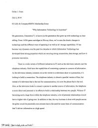 scholarship essay  cytotecusa essay eli lilly scholarship for bdpa students dylan