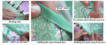 Binding Basics - Part 5: Hand-Stitching the Binding to the Back ... & Hand-Stitching the Binding to the Back Adamdwight.com