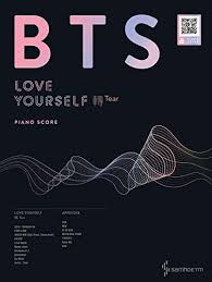 Piano com Yourself Books 轉 Samhomusic Amazon Bts 'tear' Score Love