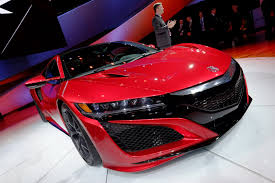 2016 Acura NSX Will Be the Brand's Most Customizable Model Ever ...