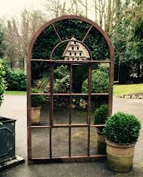 garden mirrors. Large Arch Garden Architectural Mirror Rustic Original Mirrors