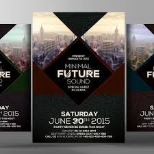 electro future flyer poster templates a4 advertise alternative png and psd