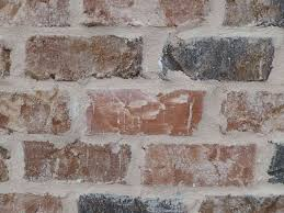 painted brick wall new mortar joint styles google search the new house