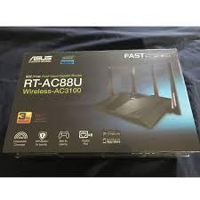 Asus Ac3100 Pink Light Asus Rt Ac88u Wireless Ac3100 Dual Band Gigabit Router