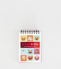 Emoji A Day A Daily Mood Flip Chart Multicoloured Emoji A Day Flip Chart Everything Emoji