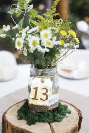 Decorated Jars For Weddings weddingjamjarstablenumbersjpg 6