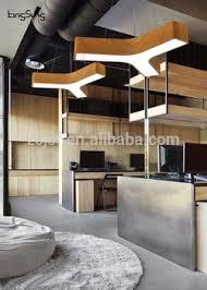 office pendant light. Y Shape Office LED Lighting 4000K Pendant Light Metal Wood Color Antique Lamp L