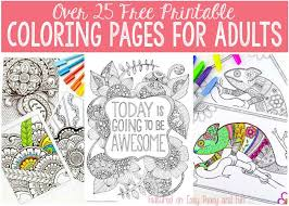 Get free printable mermaid coloring pages for kids and a mermaid coloring sheet for grown ups for free! Free Coloring Pages For Adults Easy Peasy And Fun