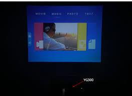 Touyinger <b>YG 300 yg 300 Mini</b> Portable Pocket LED Projector ...