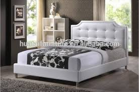 Carlotta White Modern Bed With Upholstered Headboard Bedroom Furniture - Buy Modern Bedroom Furniture Product on Alibaba.com