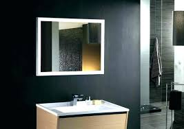 bathroom mirrors with lights in them. Exotic Led Bathroom Mirrors Mirror With Lights Bath . In Them O