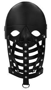 Ouch! <b>Маска</b>-<b>шлем Leather Male Mask</b> (PAI011) — купить по ...