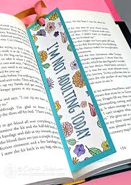 Small Picture Make a Coloring Page Bookmark Carla Schauer Designs