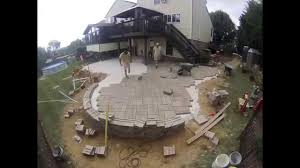 Westminster MD Patio with Hot Tub Fire Pit YouTube