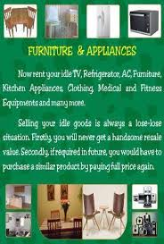 Rent Electronics Furniture Property Clothing Accessories line