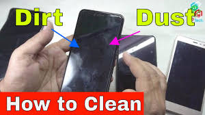 reusing cleaning tempered glass or plastic screen protector