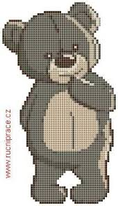 Teddy Bear Chart Teddy Bear Free Cross Stitch Patterns And Charts Www Free