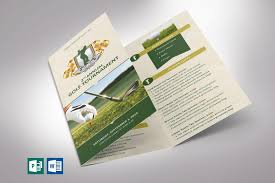 Microsoft Flyer Template Free Download Golf Tournamentochure Template Word Publisher Godserv
