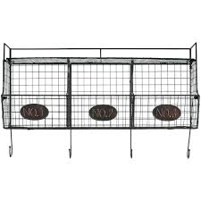 wire basket with hooks wire basket shelves black wire shelf with 3 wire baskets hobby lobby wire basket wall shelves