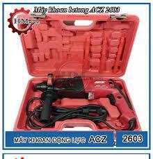 Máy Khoan Bê Tông 2-26 ACZ - Máy khoan cầm tay ACZ 2603 - Máy khoan đục  công suất 780w - Đầu cặp SDS-plus 26mm - Bảo hành 6 tháng
