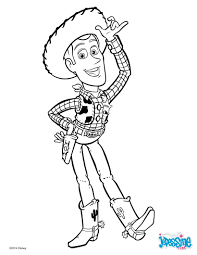 Coloriages Toy Story Woody Le Cowboy Fr Hellokids Com