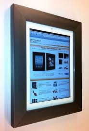vidabox ipad ipad2 on wall mounting