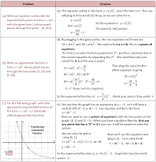 Writing Exponential Functions From Tables Worksheet Worksheets for ...