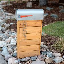 Modern Mailbox Designs How To Build This Modern Mailbox Modern Mailbox