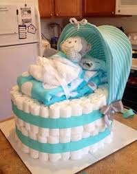 monkey baby diaper cake these are the best baby shower ideas