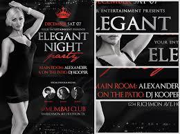 Party Flyer Stunning Elegant Night Party Flyer Template FlyerHeroes