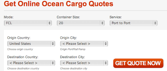 Freight Shipping Quote Custom 48 Features Of Instant Ocean Freight Quote Software