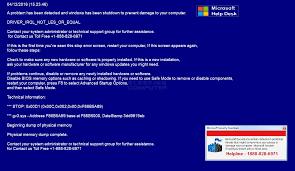 remove the microsoft help desk tech support scam