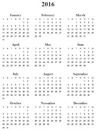 Yearly Calendar Planner Template Printable Year Calendar 2013