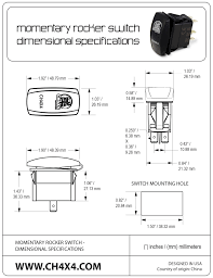 amazon com mictuning ls09901 7 pin momentary laser rocker switch at LED Rocker Switch Wiring Diagram 120v electric winch switch wiring diagrams diagram in