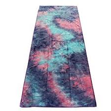 strops yoga mat towel tie dye towel for bikram hot yoga yoga and
