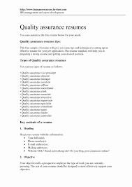 Quality Control Job Description Resume Resume Format For Quality Control Engineer Beautiful Resume 21