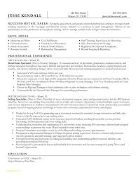 Retail Associate Resume Template Or Ideas Collection Alluring Pre