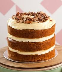 Naked Carrot Cake Online The Velvet Cake Co Bakery Cape Town