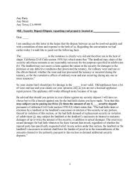 Sample Letter To Tenant For Damages Lettering Being A