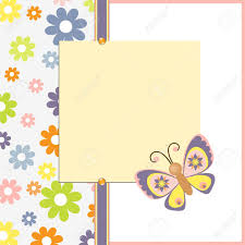 Cute Template Cute Template For Easter Spring Greetings Card Royalty Free Cliparts