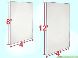 how to hang dry wall image titled install drywall step 1 installing drywall ceiling by yourself