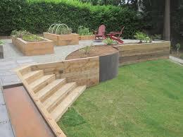 cozy ideas wood retaining wall design small home decor inspiration hawk haven 6x6 diy pressure treated
