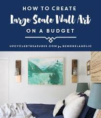 inexpensive large scale wall art