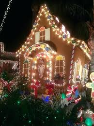 gingerbread house outdoor decorations decorating ideas holiday large outdoor lighted gingerbread house